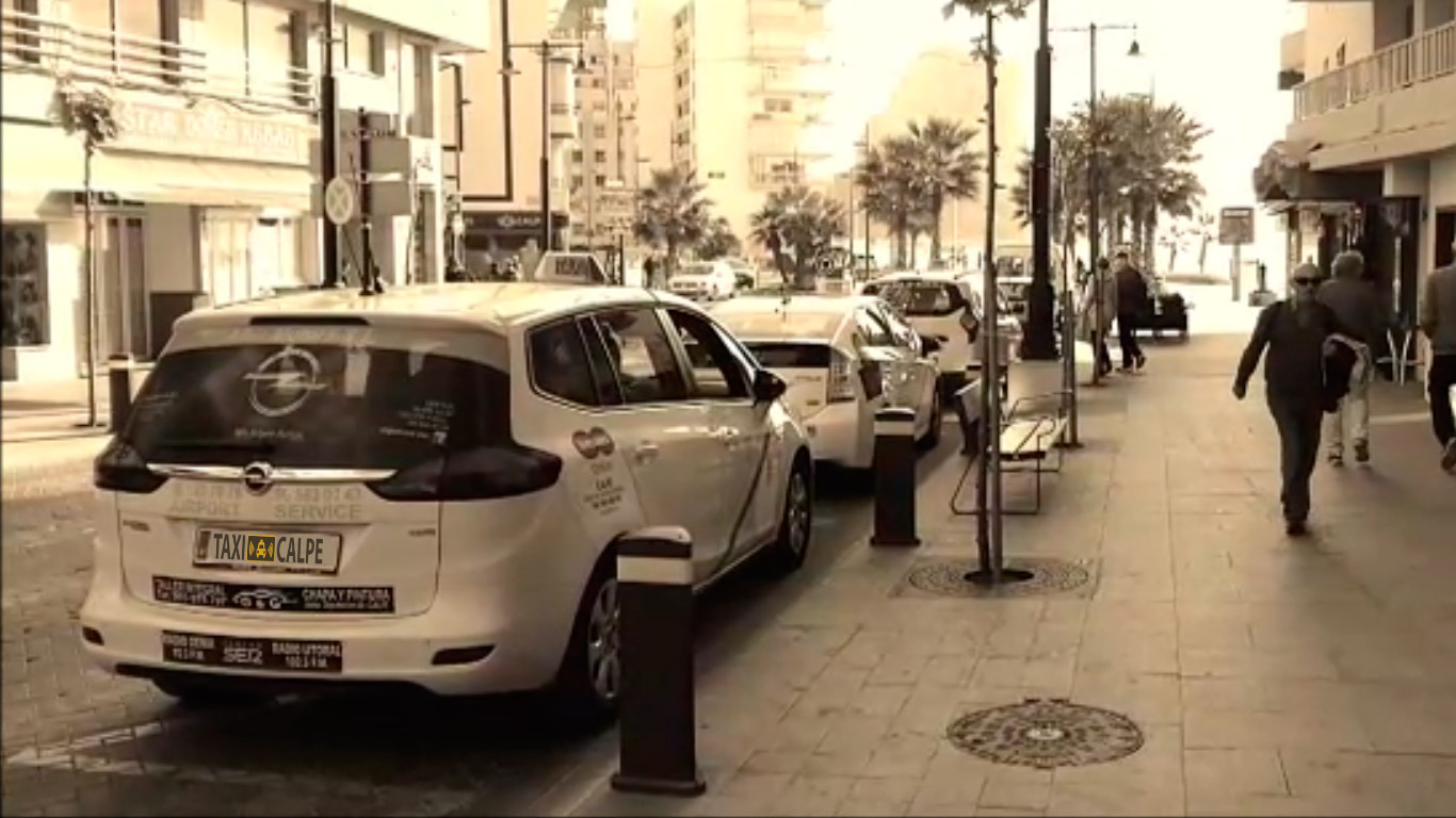 TAXICALPE | Professional taxi service in Calpe